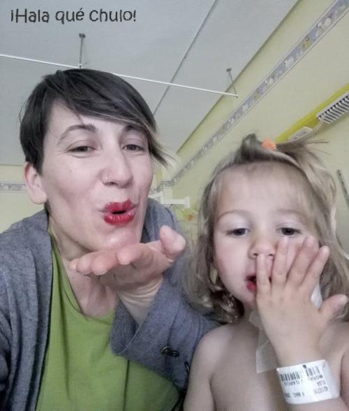 Besos desde el hospi en el Día del Niño Hospitalizado