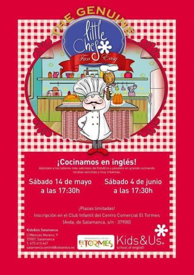 Taller Cocinamos en inglés con Kids&Us en El Tormes