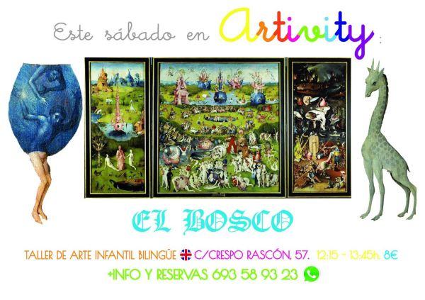 El Bosco protagoniza el Artivity de este finde en Salamanca