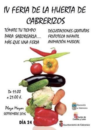 IV Feria de la Huerta de Cabrerizos 2016