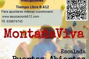 Jornada de Puertas abiertas de escalada para niños en Salamanca