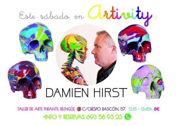 Damien Hirst en el Artiviy de Halloween