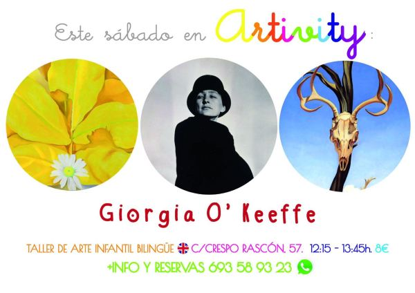 Georgia O'Keeffe en el Artivity de Paz