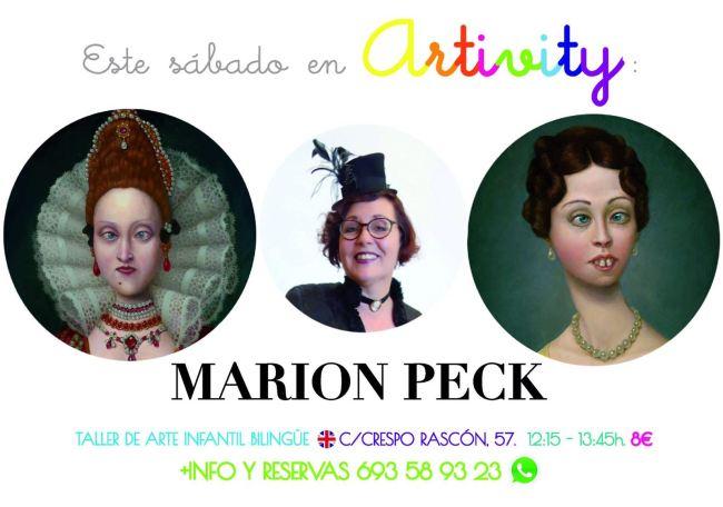 Marion Peck en el Artivity de Paz Samaniego