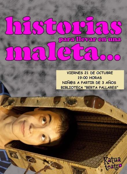 Pilar Borrego y sus Historias en una maleta en la Biblioteca de Cabrerizos