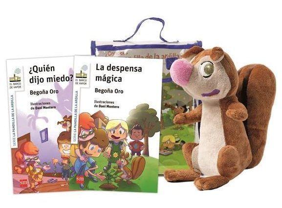 Rasi la ardilla visita la librería infantil Musarañas