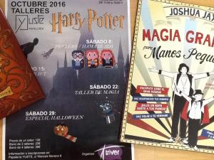 Taller de magia infantil en la librería Yuste de Salamanca