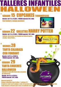 Talleres de Halloween en Tarty Party