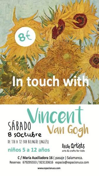 Van Gogh en el Little Artists de Espacio Nuca