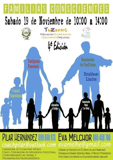 4ª edición del Taller Familias Conscientes en Salamanca