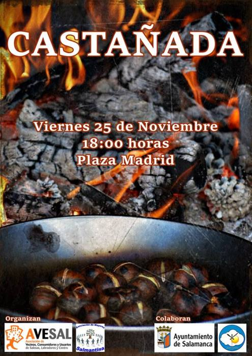 Castañada 2016 organizada por Avesal