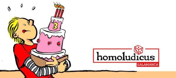 HomoLudicus Salamanca celebra su tercer cumpleaños