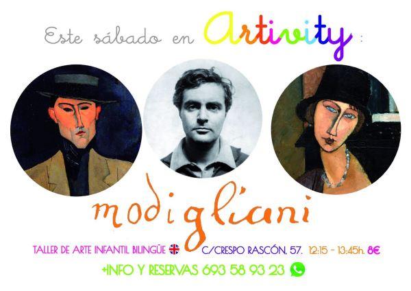 Modigliani en el Artivity este sábado