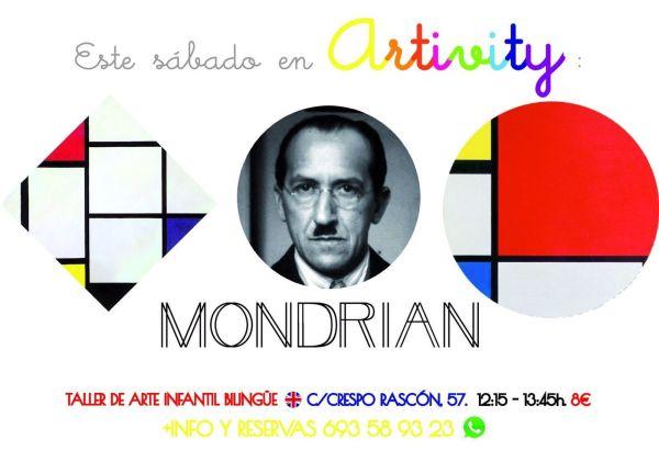 Piet Mondrian en el Artivity de Paz Samaniego