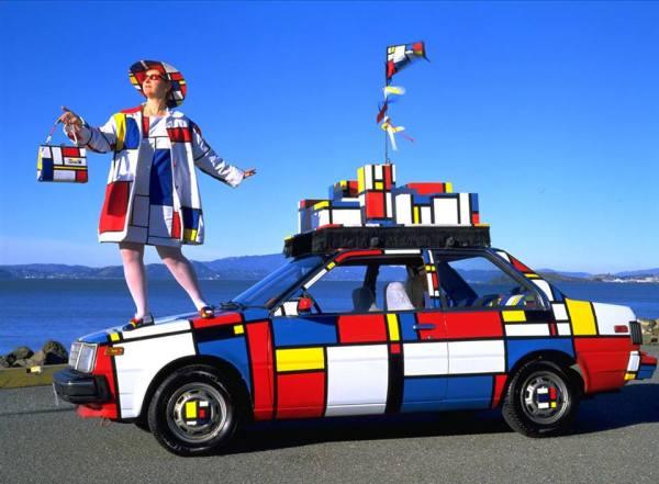 Piet Mondrian en el Little Artists de Espacio Nuca