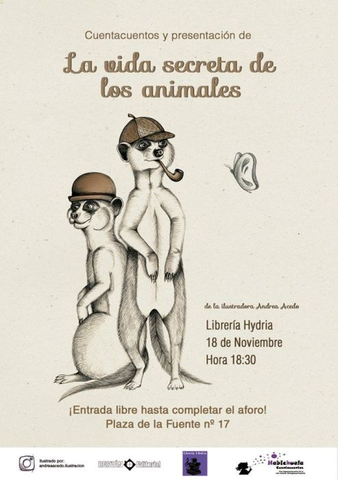 Presentación y cuentacuentos de La Vida Secreta de Los Animales
