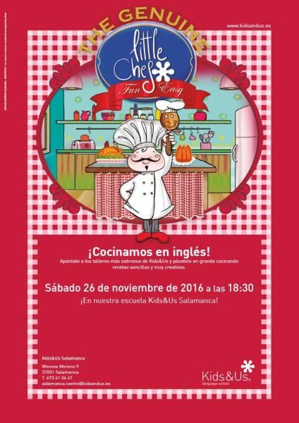 Taller ¡Cocinamos en inglés! en Kids&Us