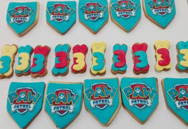 Taller infantil de galletas de Patrulla Canina en Tarty Party Salamanca
