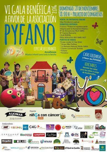 VI Gala Benéfica a favor de Pyfano 2016