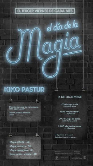 El Mago Oski en La Espannola en el Día de la Magia