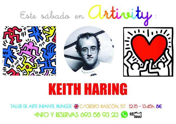 Keith Haring en el Artivity de Paz Samaniego
