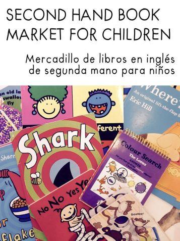 Second hand book market en la 3º Feria de la Nieve