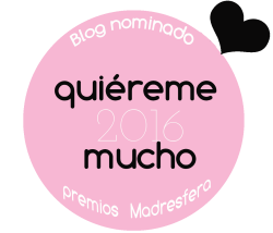 Blog nominado Premios Madresfera