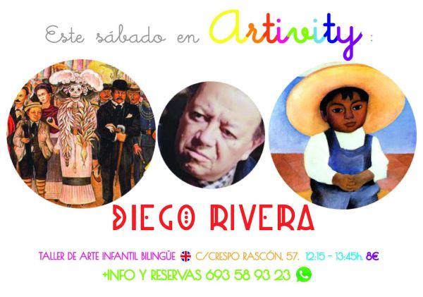 Diego Rivera en el Artivity