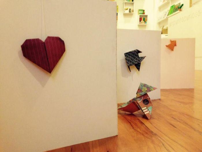 Taller de origami y cuentos con Unpuntocurioso en Atentamente