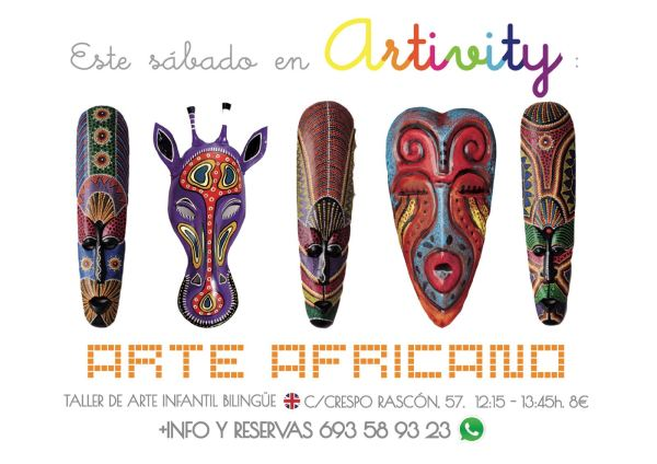 Arte africano en el Artivity de Paz Samaniego