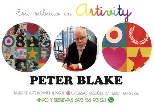 Peter Blake en el Artivity