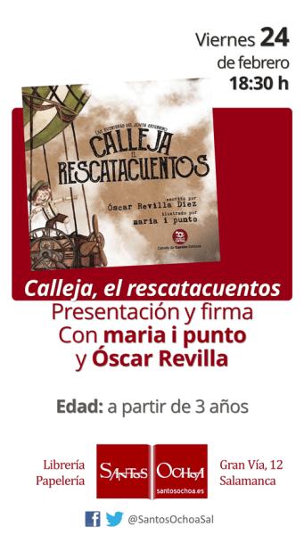 Presentación de Calleja el rescatacuentos