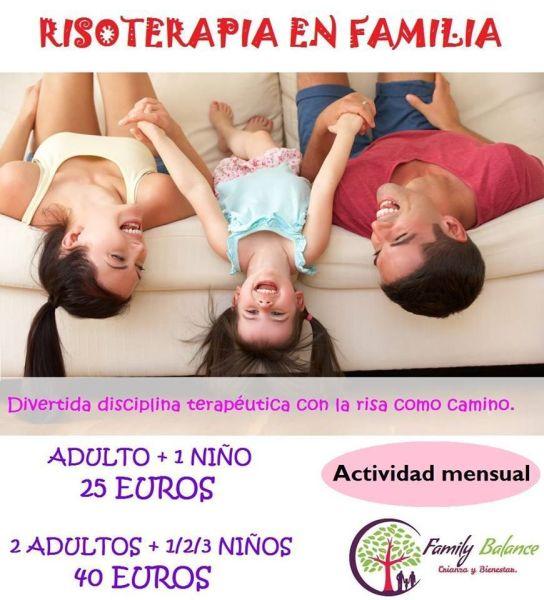 Risoterapia en familia en Family Balance