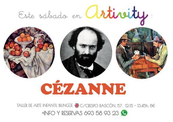 Cézanne en el Artivity de Paz Samaniego