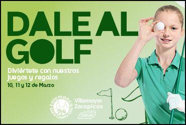 Dale al golf en el centro comercial El Tormes este finde