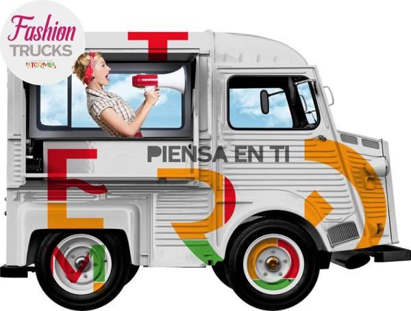 Fashion Truck en el CC El Tormes