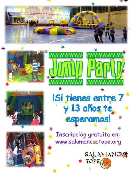 """""""Jump Party"""" en Satope Joven este sábado"""