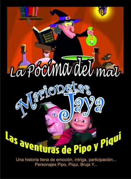 Marionetas Jaya este domingo en el Teatro de La Comedia de Salamanca con La pócima del mal