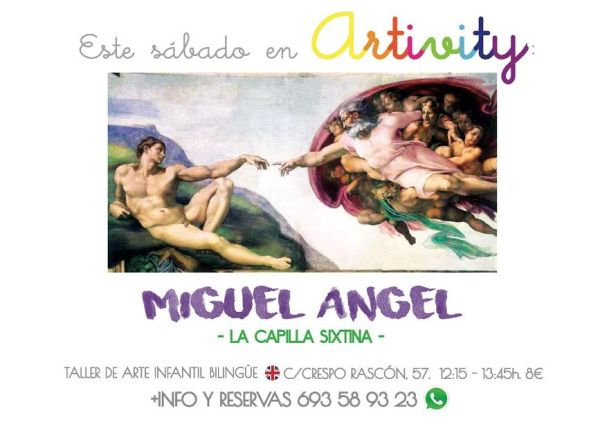 Miguel Ángel en el Artivity de Paz Samaniego