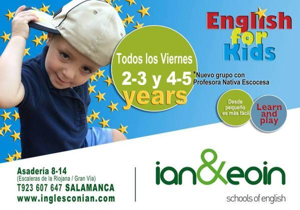 Nuevos talleres de inglés en Ian&Eoin