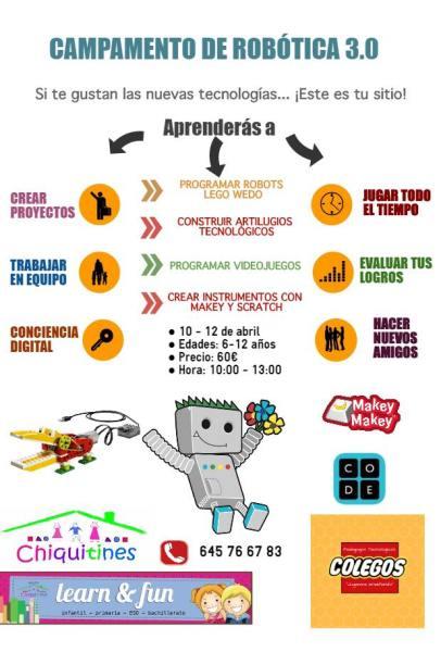 Campamento Robótica en la Academia Learn & up y Chiquitines