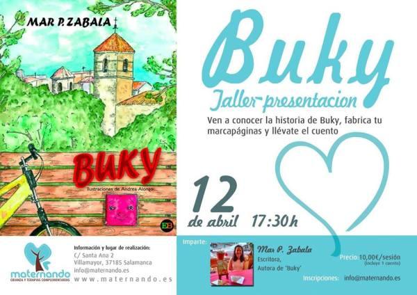 Taller-presentación de Buky en Maternando