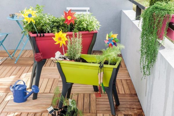Taller infantil sobre jardinería en Leroy Merlin