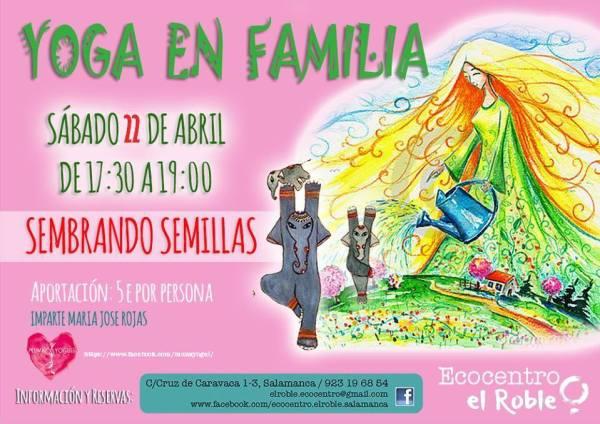 Yoga en familia Sembrando semillas con Munay Yoguis