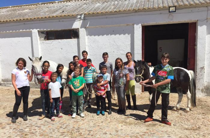 Campamento de verano en el Centro Ecuestre de Salamanca