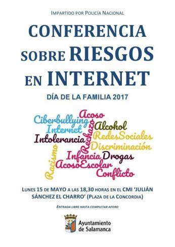 Conferencia sobre los riesgos de Internet en el Día de la Familia