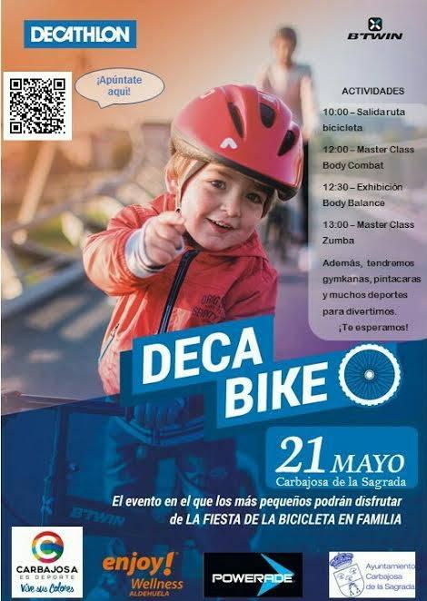 Decabike con Decathlon Salamanca el 21 de mayo
