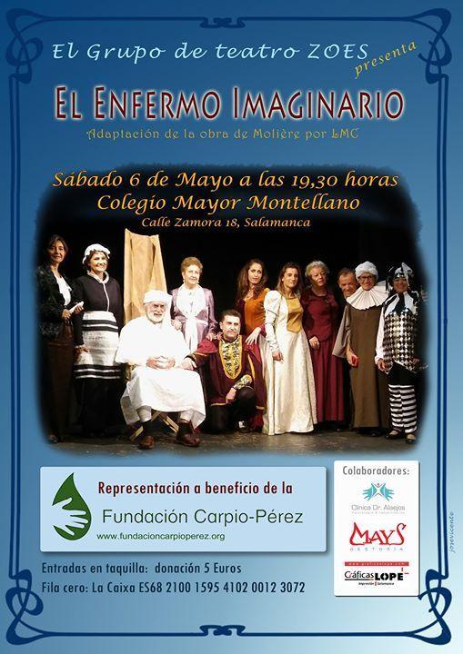 Teatro a beneficio de la Fundación Carpio Pérez