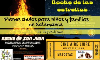 Agenda HQC de planes chulos para niños y familias en Salamanca