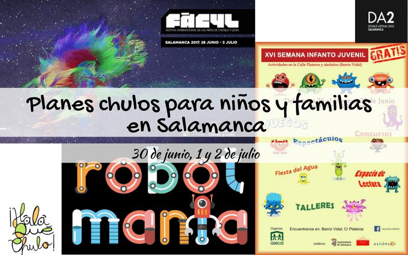 Agenda de planes chulos en Salamanca